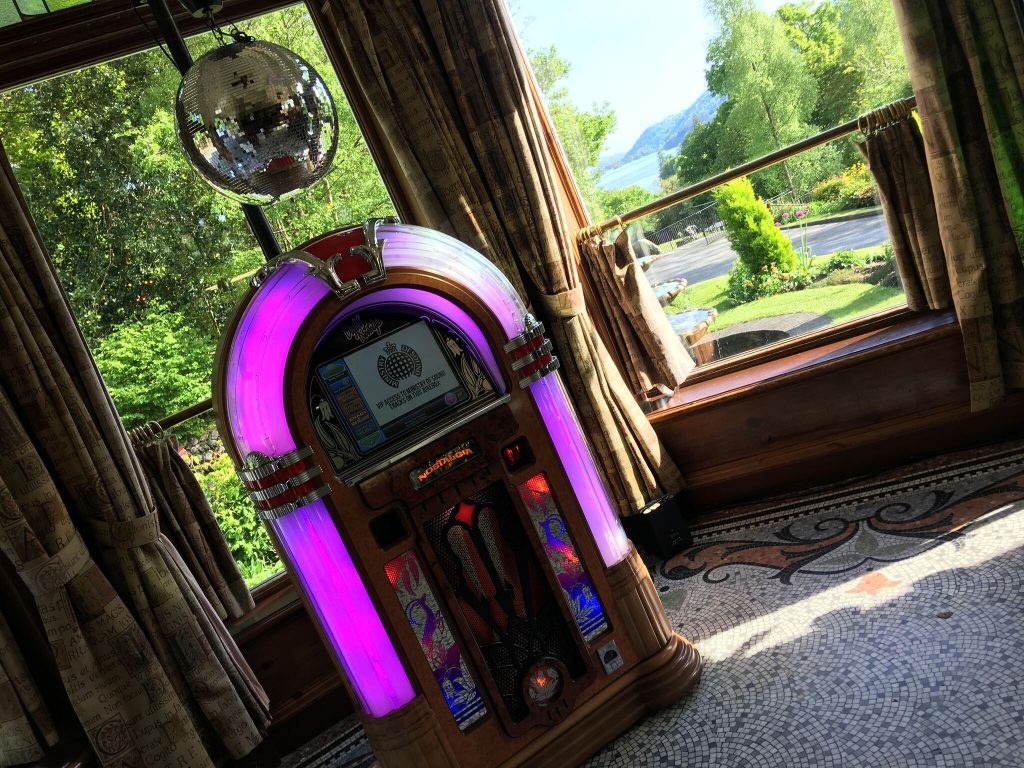 Jukebox Hire for Events and Weddings - Timewarp Jukeboxes, Cumbria